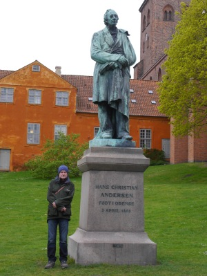 Two special men:  James and Hans Christian Anderson