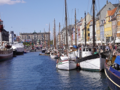 Nyhavn used to be the red light ditrict, but now a humming cafe and bar area
