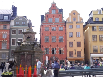 Centre of Gamla Stan - the old town