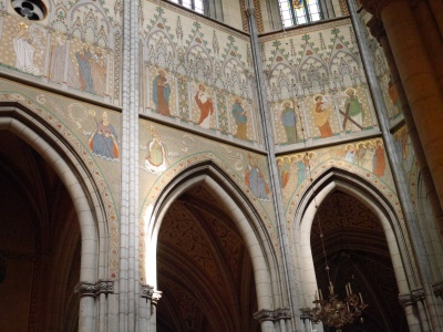Fab painted Church interior