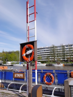 Life saving equipment along the river - would we have saved the revellers?