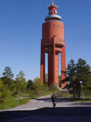 The Water Tower opened in the afternoon, so we did not feel obliged to climb the steps for the view!