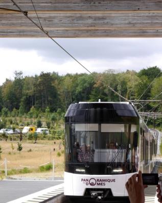 Le Puy de Dome train