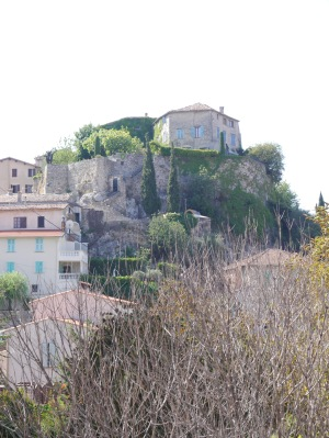 We walked to the top of the  hill to discover the castle was hut until 2.00.