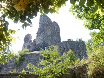 The castle on a hill