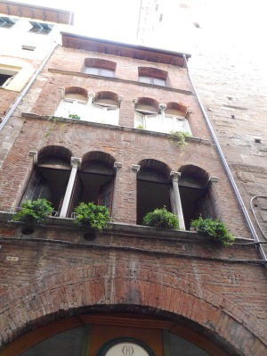 Three eras of building ... three window styles