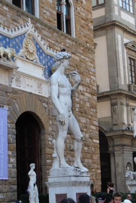 Michelangelo's David ... well the copy