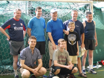 The Clune Blood Team: Youth and numbers on their side!
