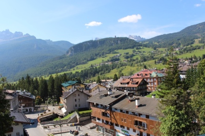 Cortina is nestled in the middle of some of the most stunning mountain scenery.