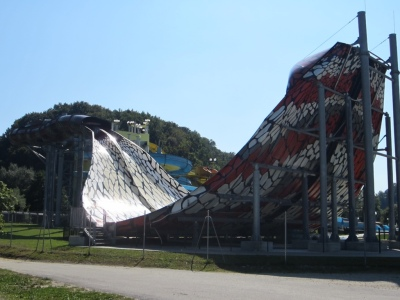 The 2013 addition for the water park .... not our cup of tea at all