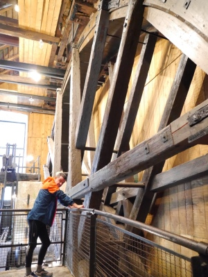 The Kamst - largest surviving wooden water wheel in Europe