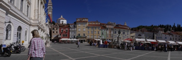 Pretty Piran - Italian influence in architecture