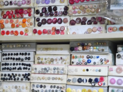 A proper haberdashers shop ... when I used to dressmaker, I had to go to London to get anything like the choice.