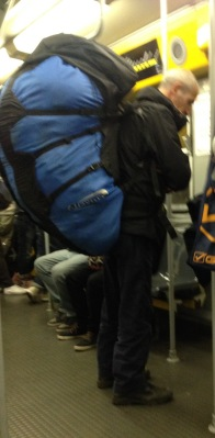 Possibly the largest back pack - ever