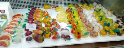 I'm not overseen on marzipan, but these are art works.