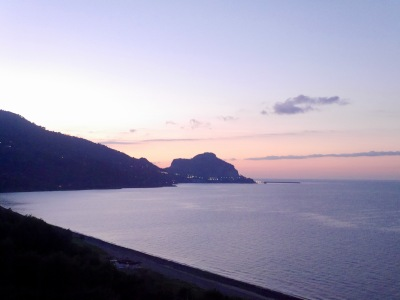 View across to Cefalu